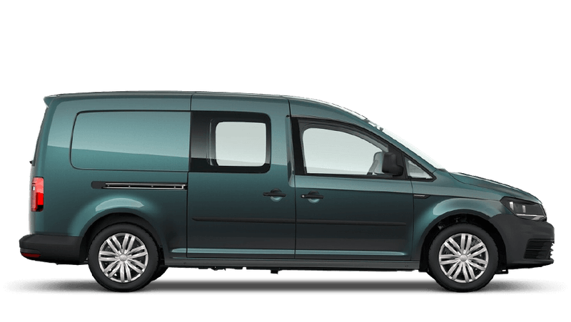 Bamboo Garden Green (Metallic) Volkswagen Caddy Kombi