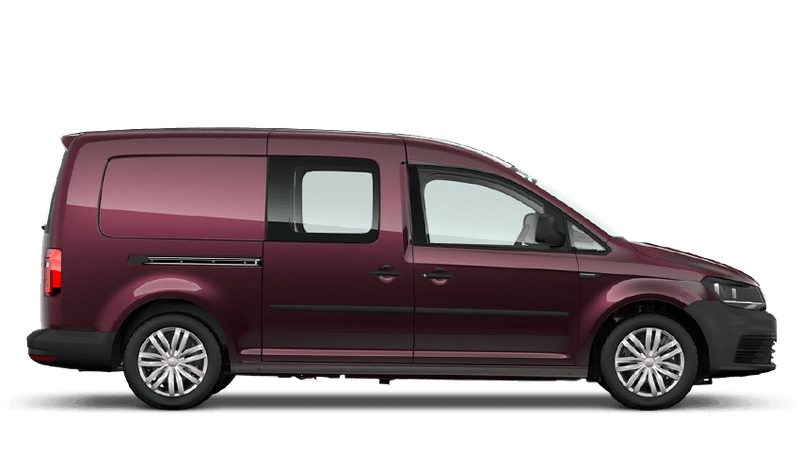 Blackberry (Metallic) Volkswagen Caddy Kombi