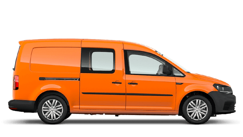 Bright Orange (Solid) Volkswagen Caddy Kombi