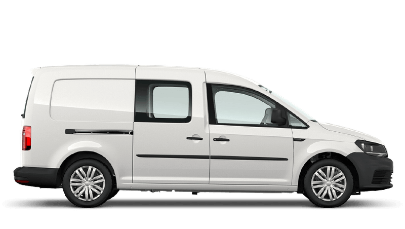 Candy White (Solid) Volkswagen Caddy Kombi