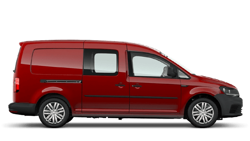 Cherry Red (Solid) Volkswagen Caddy Kombi