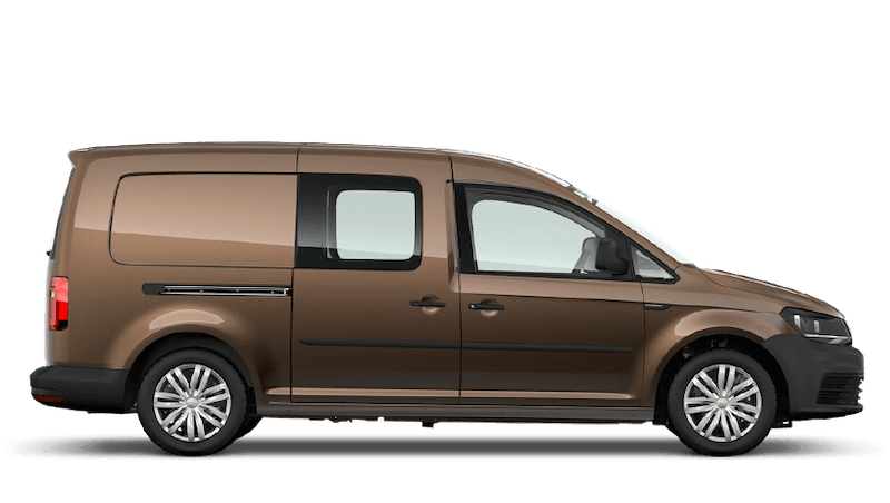 Chestnut Brown (Metallic) Volkswagen Caddy Kombi