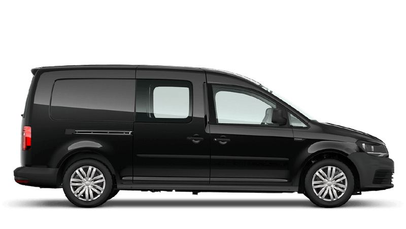 Deep Black Pearl (Metallic) Volkswagen Caddy Kombi