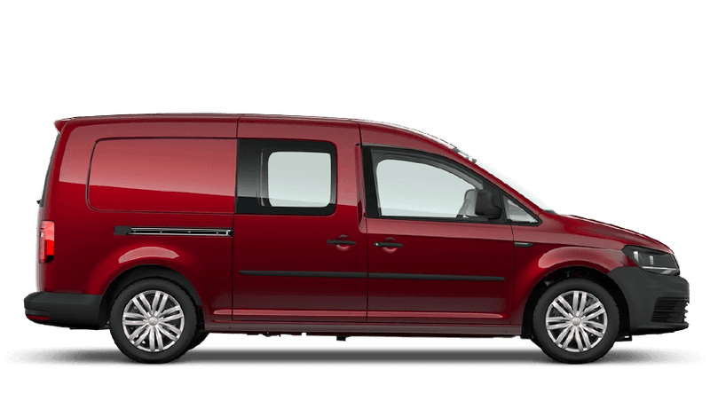 Fortana Red (Metallic) Volkswagen Caddy Kombi