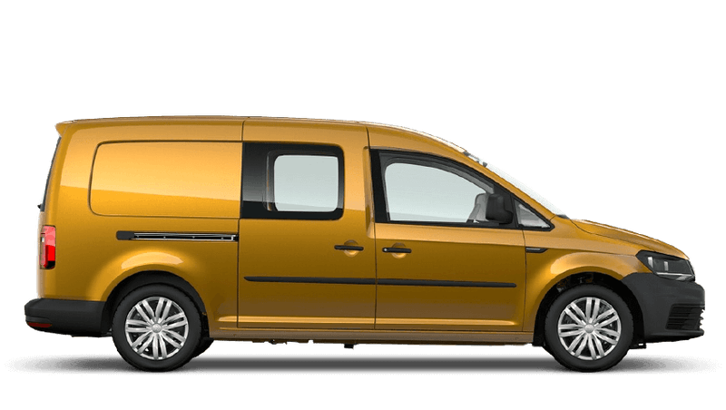 Sandstorm Yellow (Metallic) Volkswagen Caddy Kombi