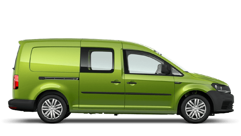 Viper Green (Metallic) Volkswagen Caddy Kombi