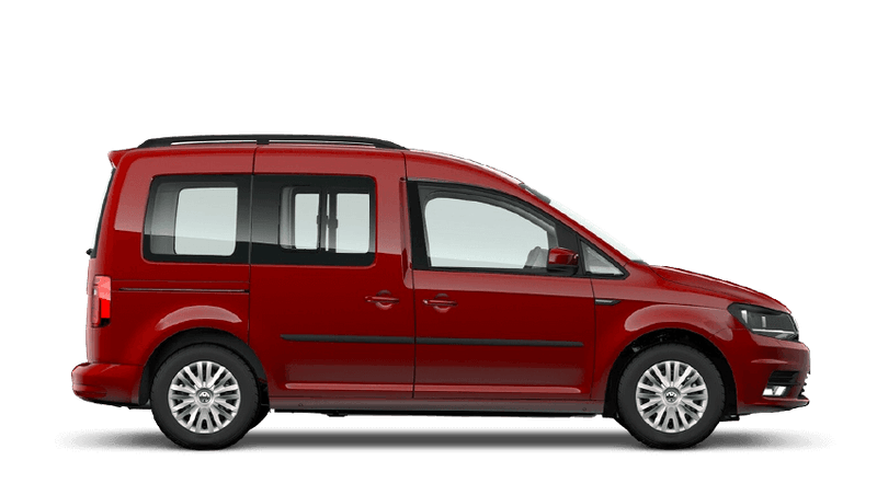 Cherry Red (Solid) Volkswagen Caddy Life