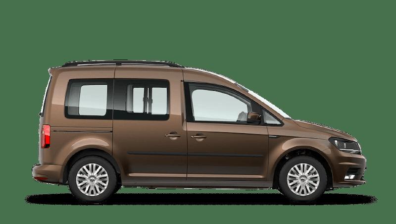 Chestnut Brown (Metallic) Volkswagen Caddy Life
