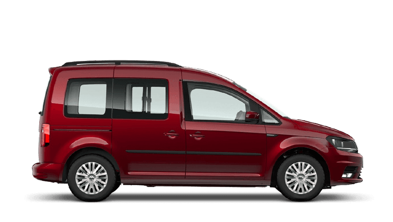 Fortana Red (Metallic) Volkswagen Caddy Life