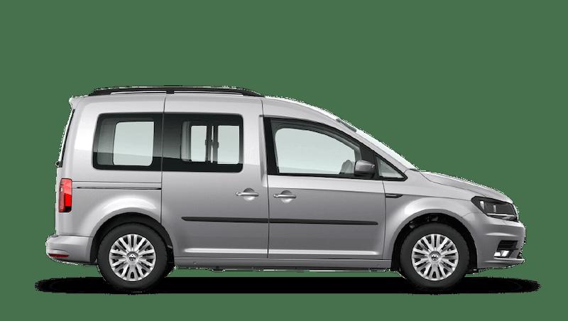 Reflex Silver (Metallic) Volkswagen Caddy Life