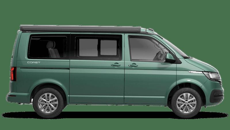 Bay Leaf Green (Metallic) Volkswagen California 6.1
