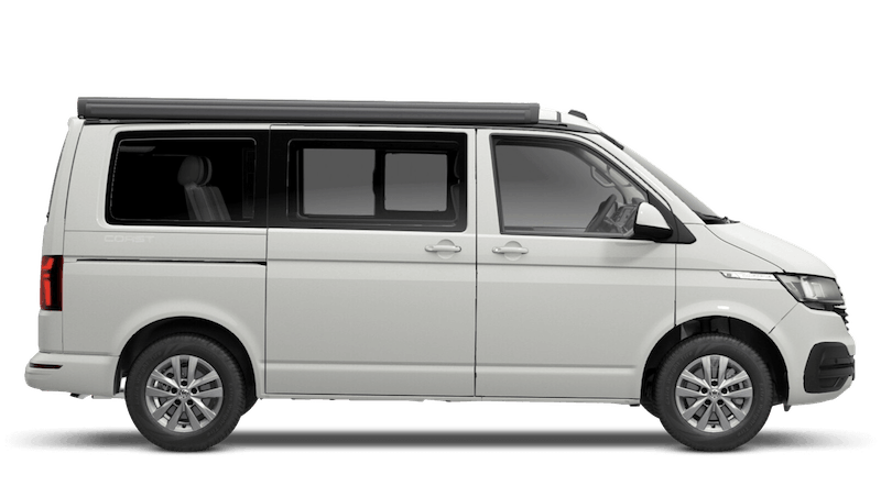 Candy White (Solid) Volkswagen California 6.1