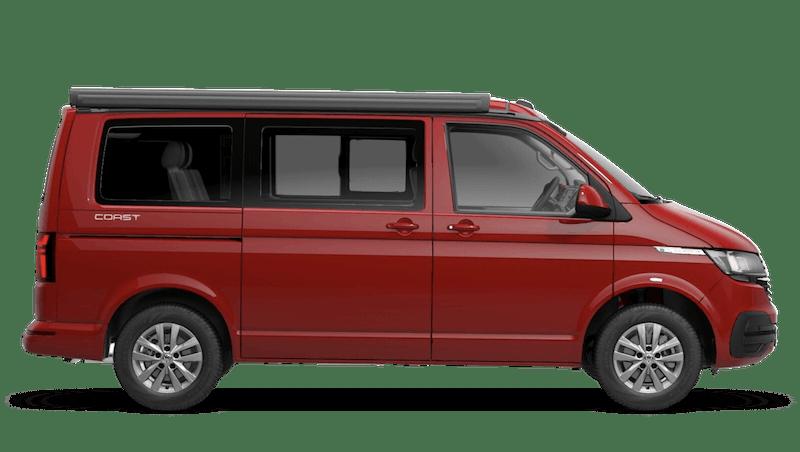 Cherry Red (Solid) Volkswagen California 6.1