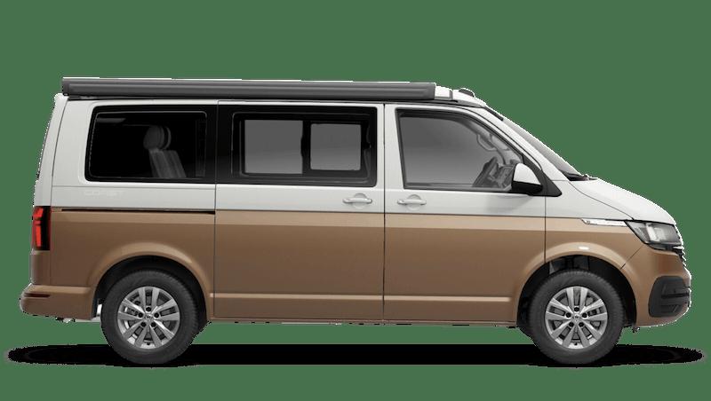 Copper Bronze with Candy White Roof (Metallic) Volkswagen California 6.1