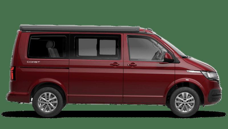 Fortana Red (Metallic) Volkswagen California 6.1