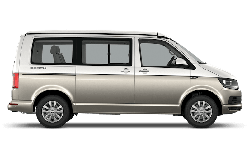 Candy White / Mojave Beige (Two Tone) Volkswagen California