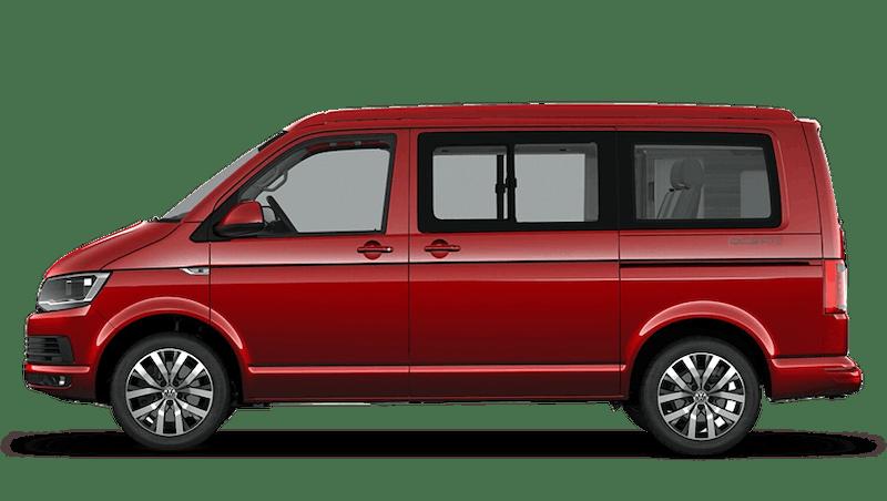 Cherry Red (Solid) Volkswagen California