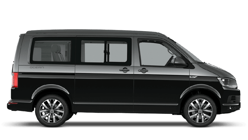 Indium Grey / Deep Black Pearl (Two Tone) Volkswagen California