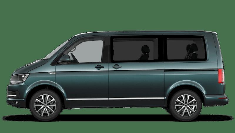 Bamboo Garden Green (Metallic) Volkswagen Caravelle