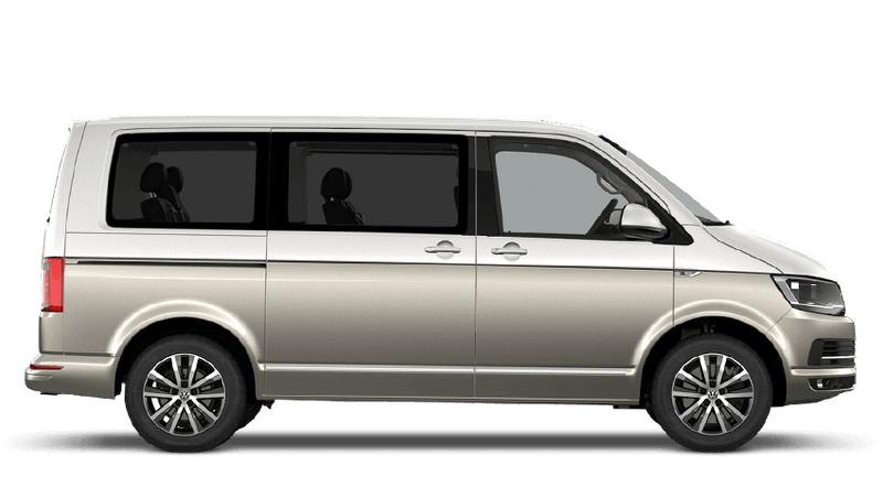 Candy White / Mojave Beige (Two Tone) Volkswagen Caravelle