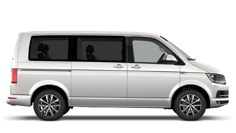 Candy White (Solid) Volkswagen Caravelle