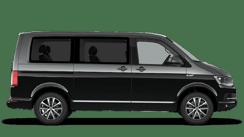 Indium Grey / Deep Black Pearl (Two Tone) Volkswagen Caravelle