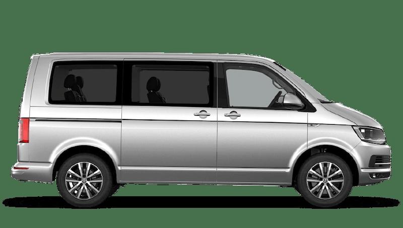 Reflex Silver (Metallic) Volkswagen Caravelle