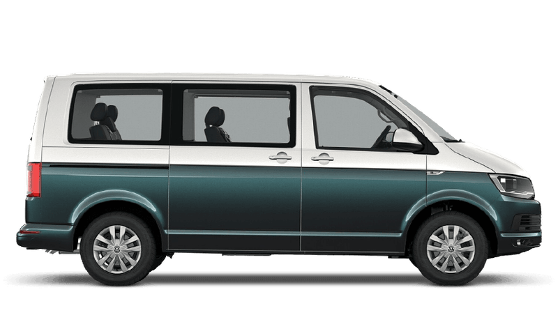 Candy White / Bamboo Garden (Two Tone) Volkswagen Caravelle