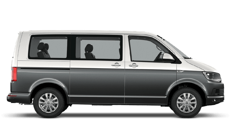Candy White / Indium Grey (Two Tone) Volkswagen Caravelle