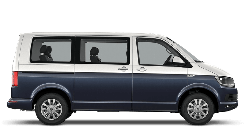 Candy White / Starlight Blue (Two Tone) Volkswagen Caravelle