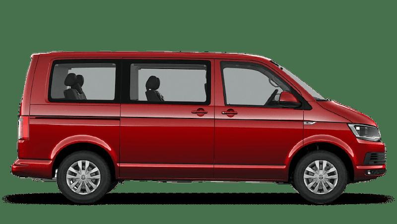 Cherry Red (Solid) Volkswagen Caravelle