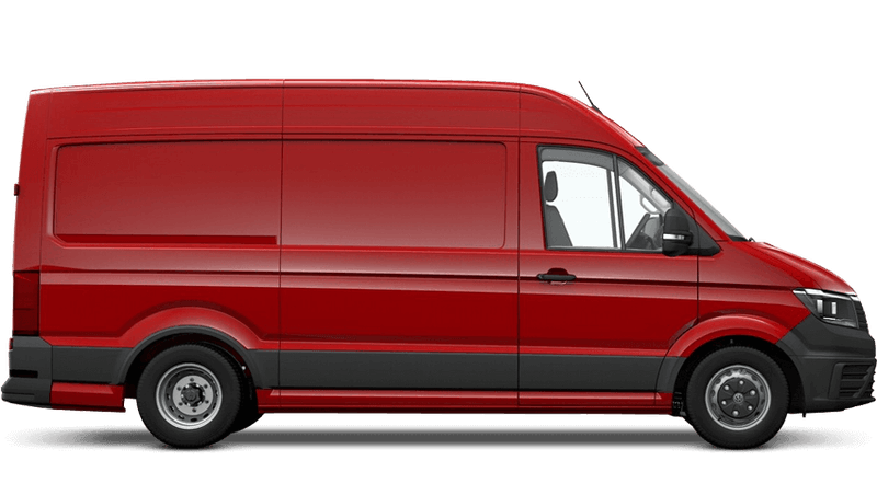 Cherry Red (Solid) Volkswagen Crafter Panel Van