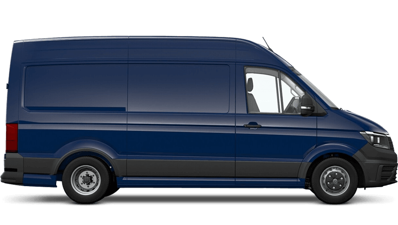 Deep Ocean (Solid) Volkswagen Crafter Panel Van