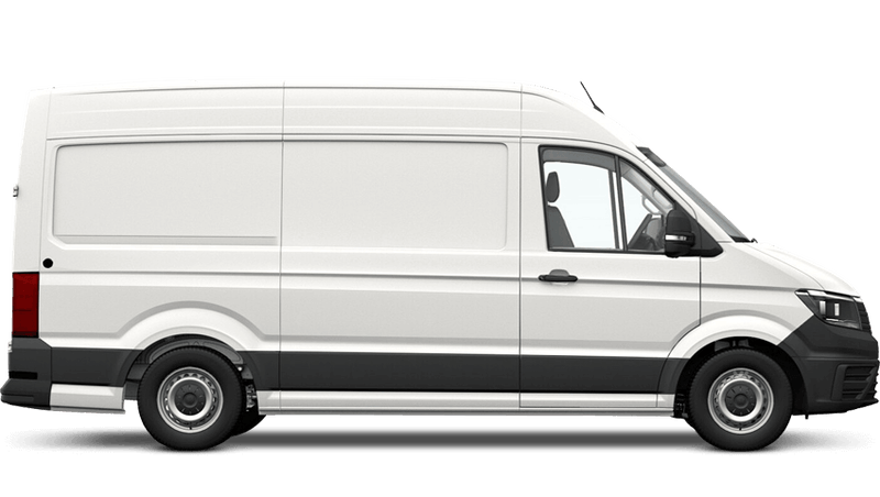 Candy White (Solid) Volkswagen Crafter Panel Van