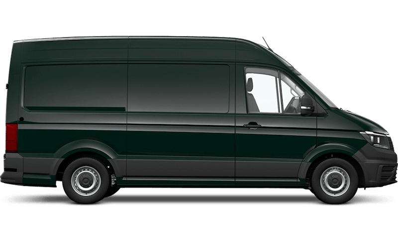Ontario Green (Solid) Volkswagen Crafter Panel Van