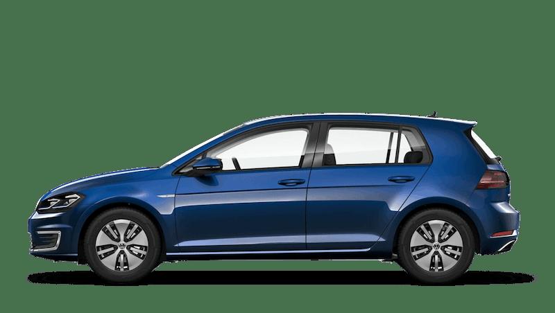 Atlantic Blue (Metallic / Pearl) Volkswagen e-Golf