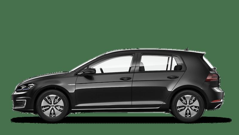 Deep Black Pearl (Metallic / Pearl) Volkswagen e-Golf
