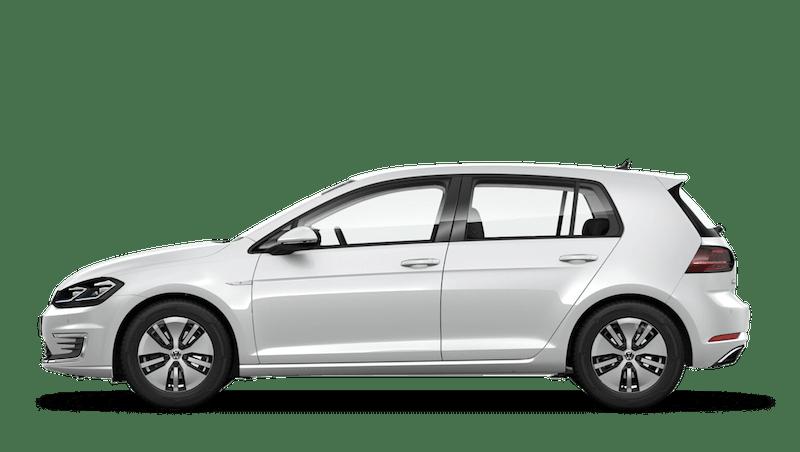 Oryx White Mother of Pearl (Premium) Volkswagen e-Golf