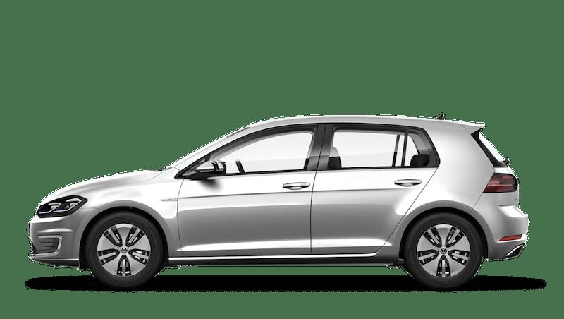Reflex Silver (Metallic / Pearl) Volkswagen e-Golf