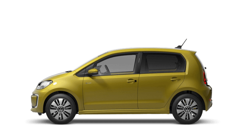 Honey Yellow (Metallic) New Volkswagen e-up!