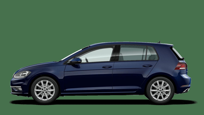 Atlantic Blue (Metallic / Pearl) Volkswagen Golf