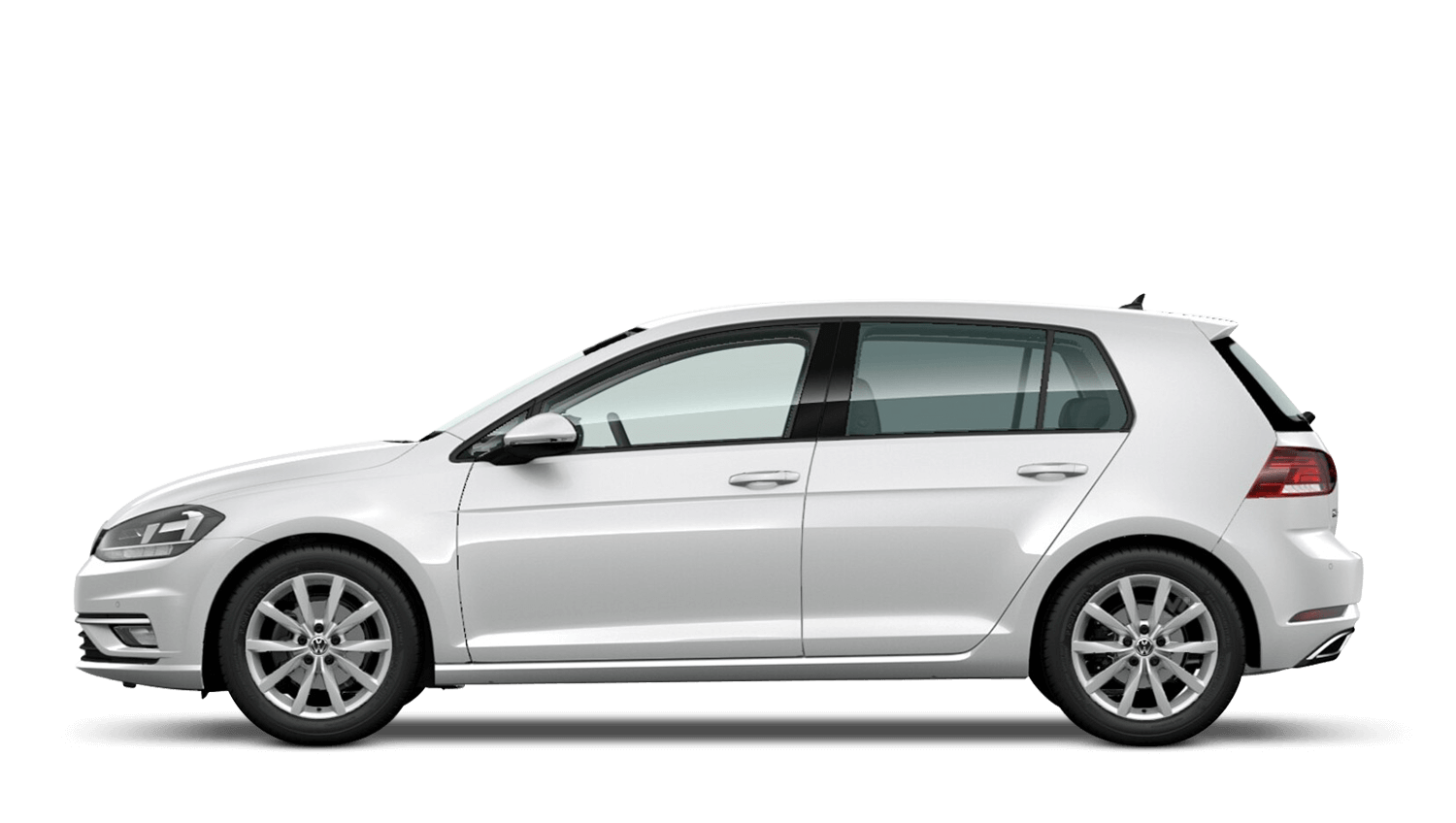 Oryx White Mother-of-Pearl (Premium) Volkswagen Golf