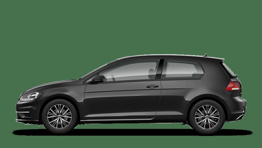 Deep Black Pearl (Metallic / Pearl) Volkswagen Golf
