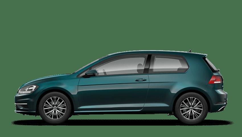 Pea Green Metallic Pearl Volkswagen Golf