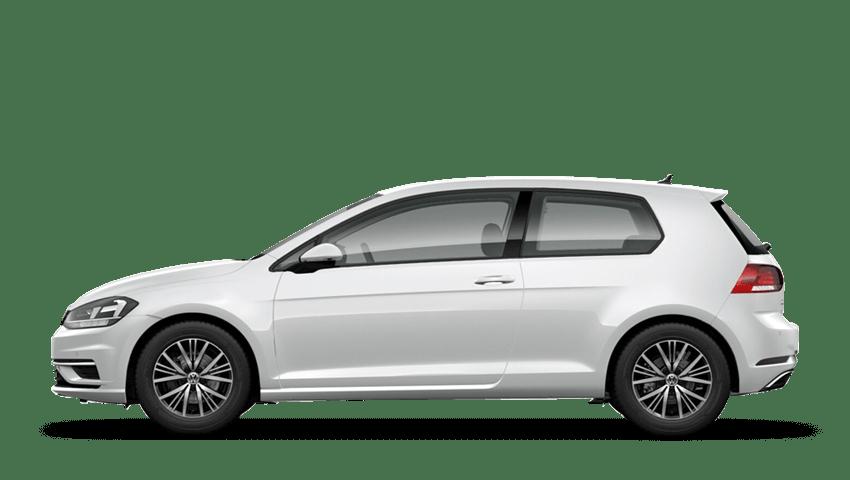 Oryx White Mother of Pearl (Premium) Volkswagen Golf