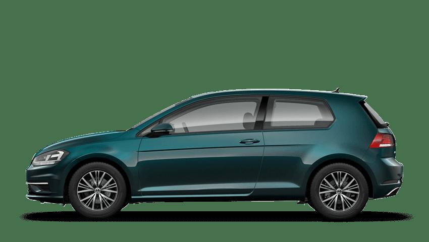 Peacock Green (Metallic / Pearl) Volkswagen Golf