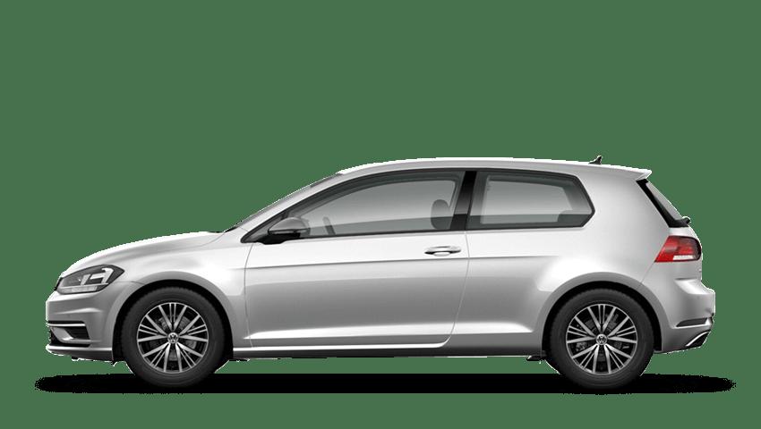 Tungsten Silver (Metallic / Pearl) Volkswagen Golf