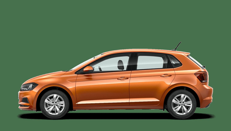 Energetic Orange (Metallic) Volkswagen Polo