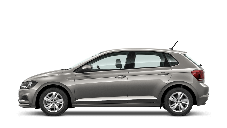 Limestone Grey (Metallic) Volkswagen Polo