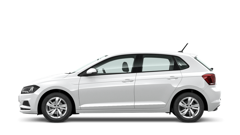 Pure White (Solid) Volkswagen Polo